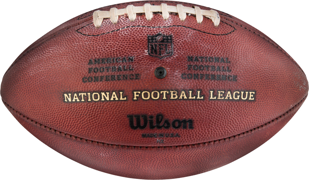 Peyton Manning's 578th TD Ball Used in 2016 AFC Championship Win At Auction
