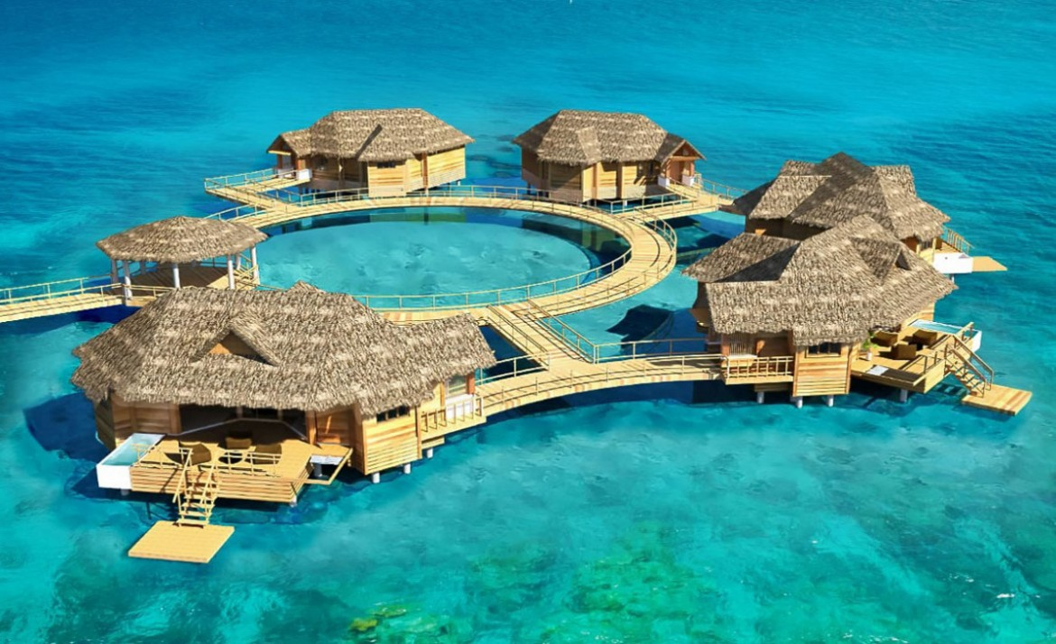 First Over-The-Water Luxury Suites in the Caribbean