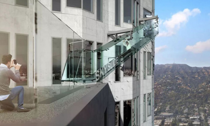 U.S. Bank Tower To Boast Glass Side 1,000 Feet Above Ground
