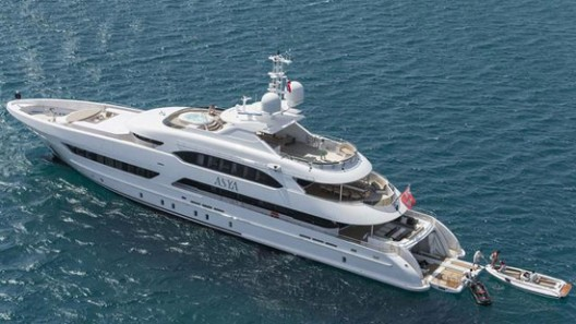 Heesen Yachts' Newly Launched Superyacht Asya On Show In Dubai