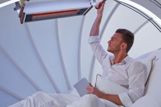 The CocoOne Cocooning - iPad Controlled Relaxation Lounge