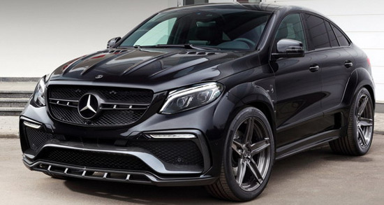 TopCar Mercedes GLE Coupe