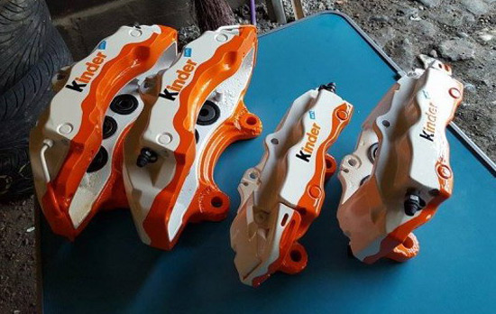 Kinder Brake Calipers
