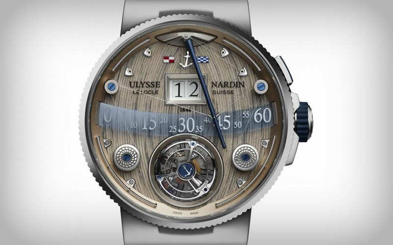 Sailboat For The Wrist - Ulysse Nardin Grand Deck Marine Tourbillion