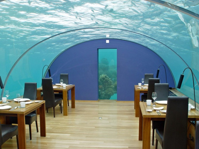maldives will boast world 39 s largest underwater restaurant. Black Bedroom Furniture Sets. Home Design Ideas