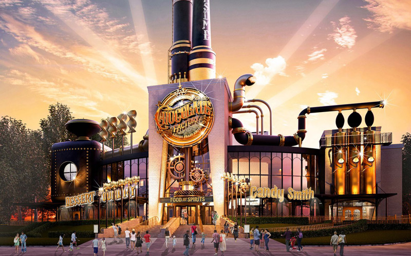 Willy Wonka Chocolate Factory Come To Life As Restaurant At Universal Studios Florida
