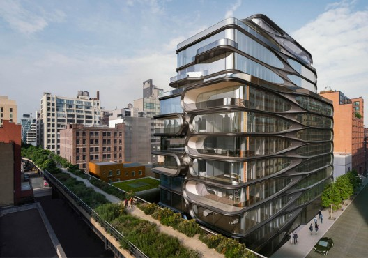Zaha Hadid S First High Rise Apartment Building In NYC EXtravaganzi