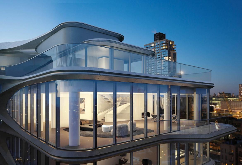 Zaha Hadid NYC Apartment Building
