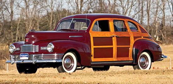 1948 Nash Ambassador Suburban Sedan