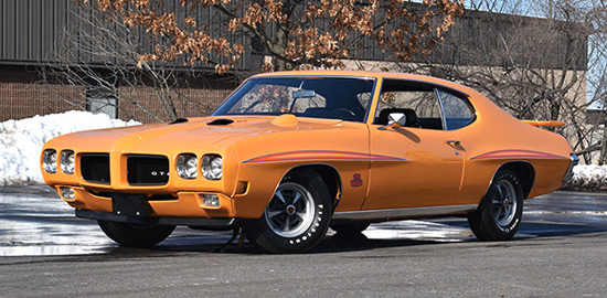 1970 Pontiac GTO Judge Ram Air III Hardtop Coupe