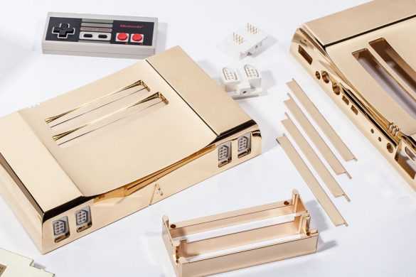 Gold-Plated NES Consoles To Honor the 30th Anniversary of the Legend of Zelda