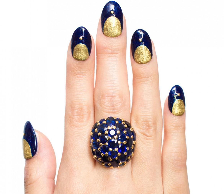 $40,000 Lewis Manicure