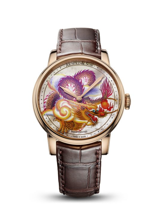 Arnold & Son Métie rs d'Art Dragon Unique Pieces