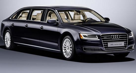 Audi A8 L Extended Six-Door