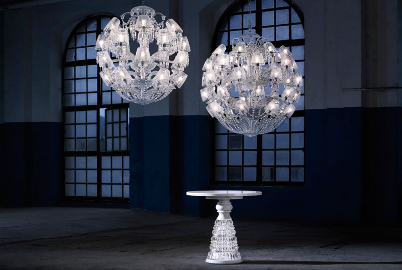Lumières out of the Box - New Baccarat's Series Of Chandeliers