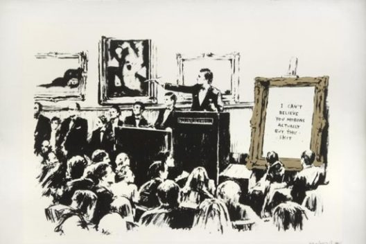 Rare Banksy Art Works And Street Art At Julien's Auctions