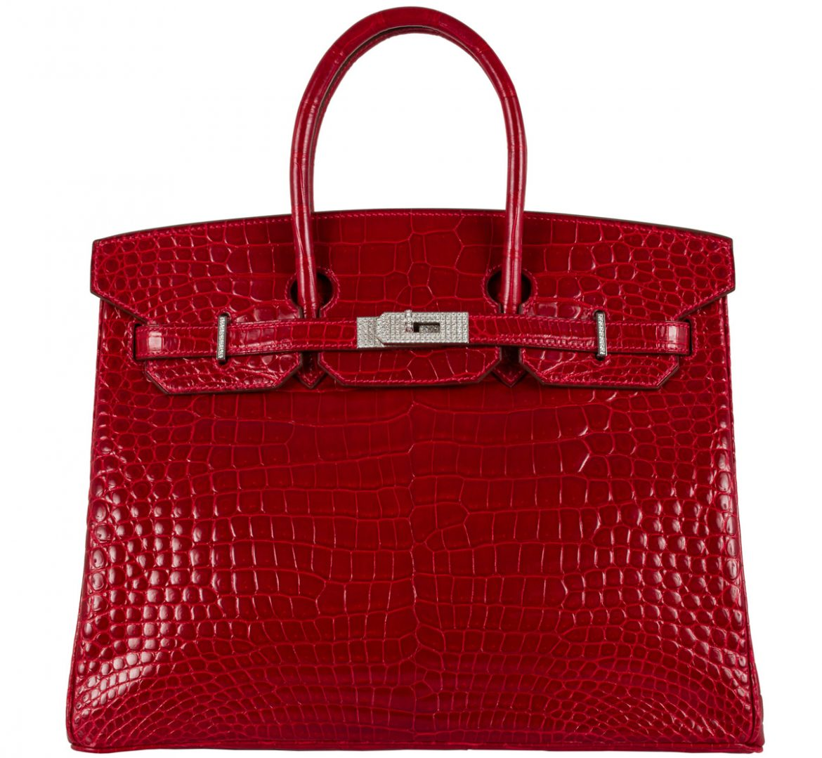 $298,000 Red Birkin Bag - World's Most Expensive