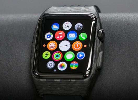 World's First Carbon Fiber Apple Watch by Feld & Volk