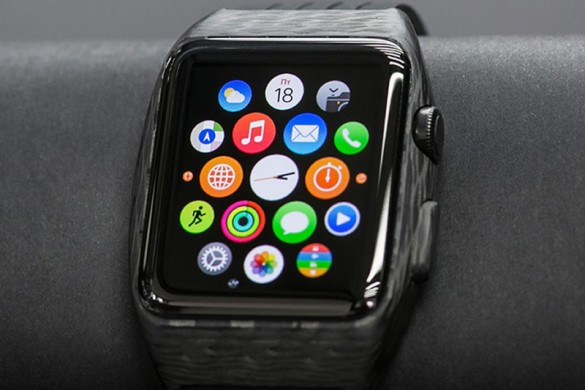 World's First Carbon Fiber Apple Watch by Feld & Volk