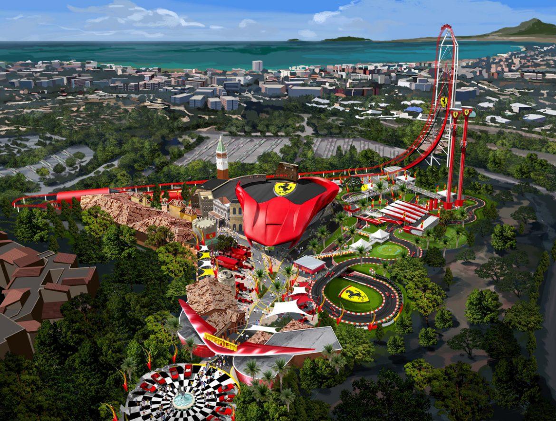 Ferrari's Fourth Theme Park