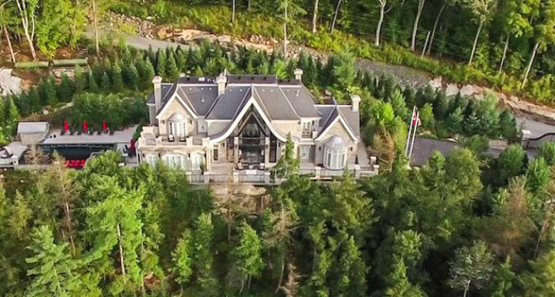 Brand New Ferris Rafauli Designed Compound on Lake Rosseau On Sale For $14.95 Million
