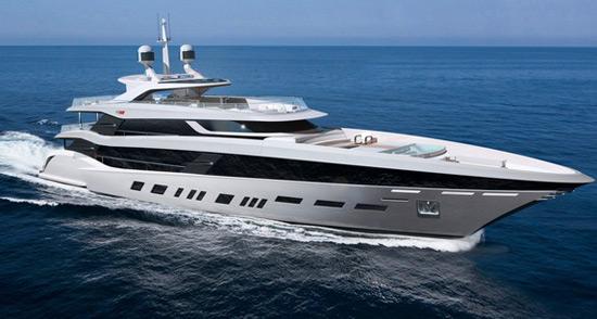 Henrik Fisker Benetti Yacht