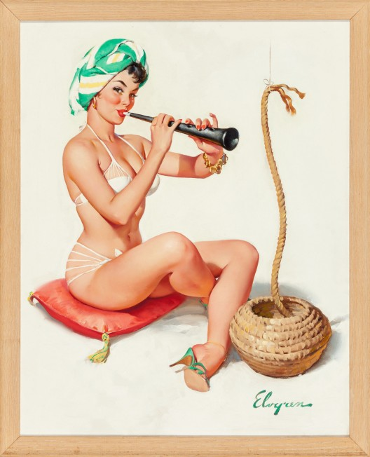 Fresh-to-Market Pin-ups Discoveries Highlights Illustration Art at Heritage Auctions