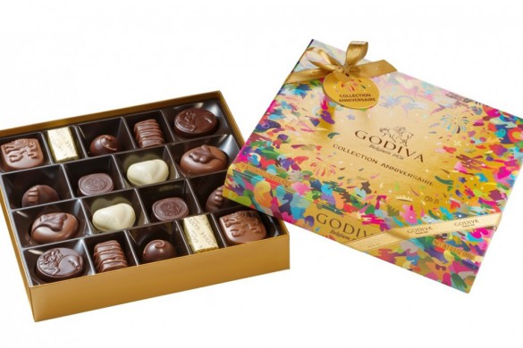 GODIVA 90 Years Gold Anniversary Collection