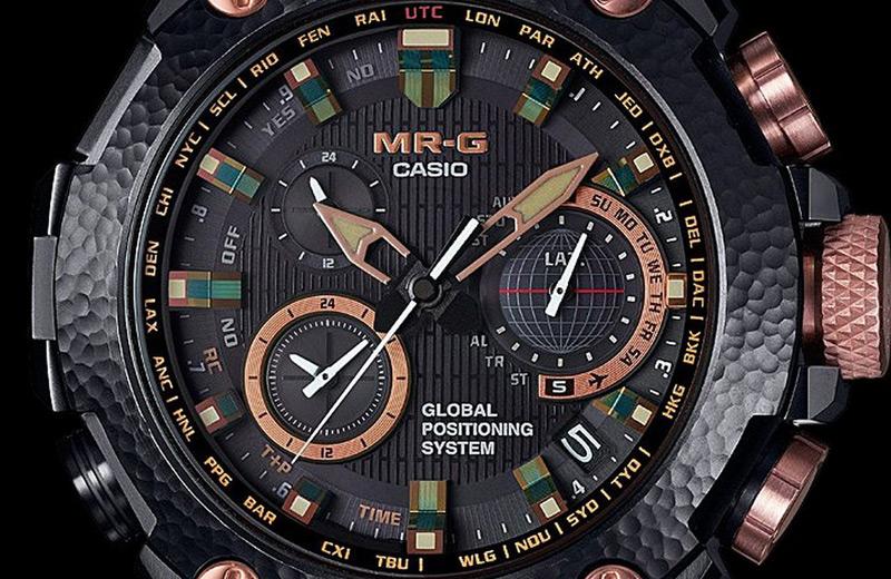 Casio Hammer Tone MR-G Watch Limited Edition