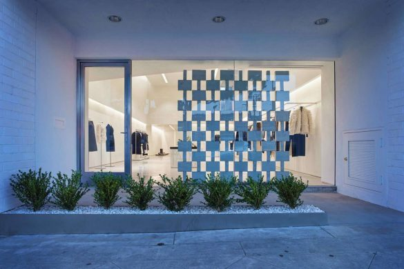 Helmut Lang Boutique In Los Angeles