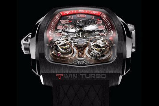 Jacob & Co Twin Turbo Twin Triple Axis Tourbillon