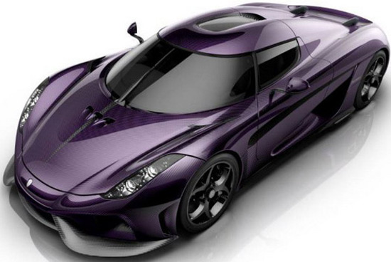 Purple Regera