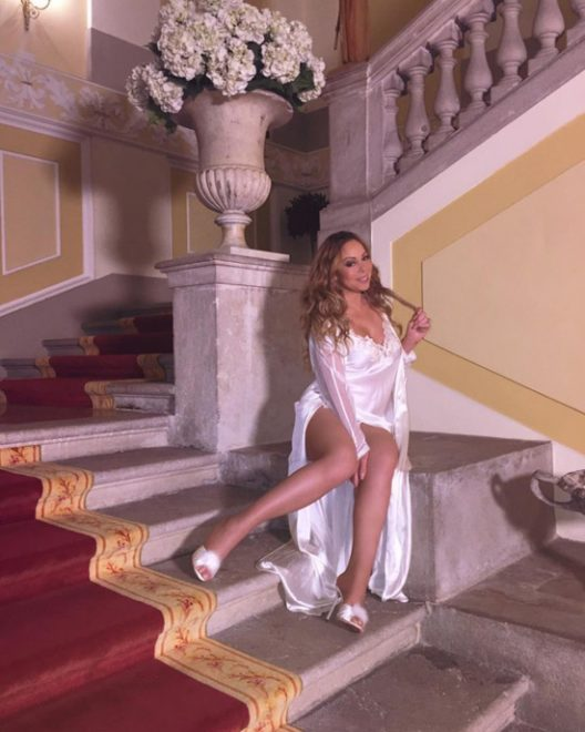 Mariah Carey Stayed At $60 Million Villa In Italy