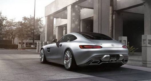 Mercedes AMG GT S With Iridium Silver Color