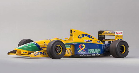 Michael Schumacher F1 Benetton Car