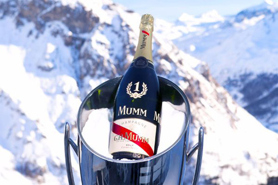 Limited Edition Mumm Champagne No1