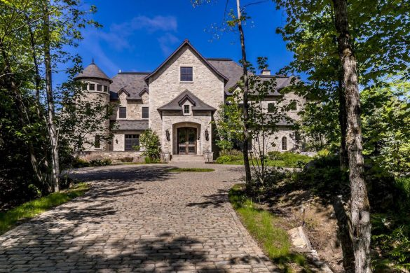 Palatial Stone Manor in Mont-Tremblant, Québec On Sale For $12.9 Million