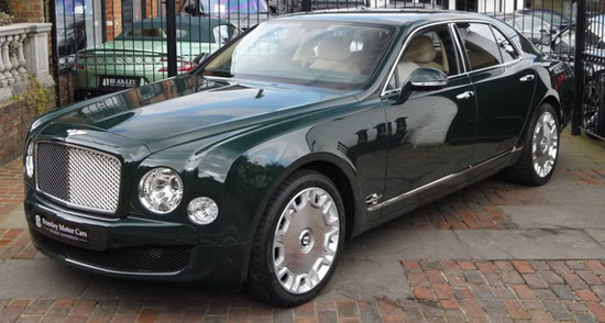 Queen Elizabeth II's Bentley Mulsanne