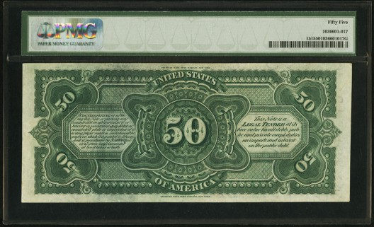 Rare Rainbow $50 - Top Lot At CSNS Currency Auction