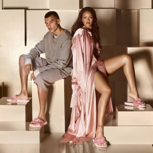 Rihanna's Fenty Fur Slides Sells Like Hot Cakes