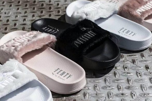 Rihanna's Fenty Fur Slides Sells Like Hot Cakes