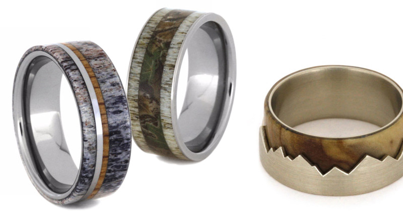 Jewelry by Johan Offers Unique Mens Wedding Bands - eXtravaganzi