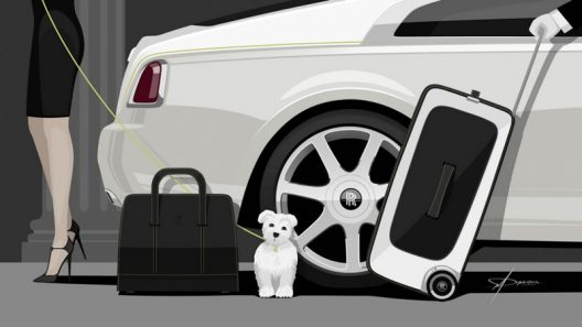Rolls Royce Wraith Luggage Collection