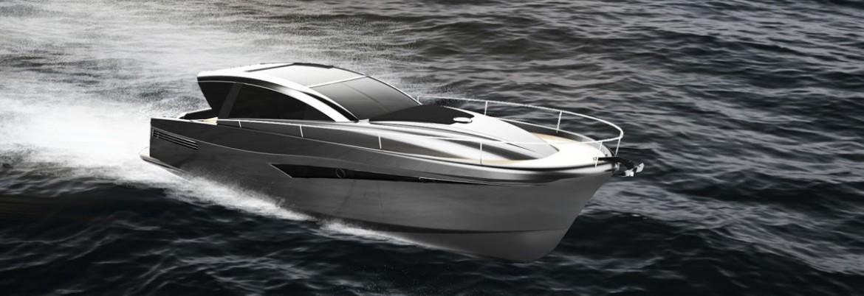 Shark Line 46 - Trendy Yacht That Won 5 Design Awards