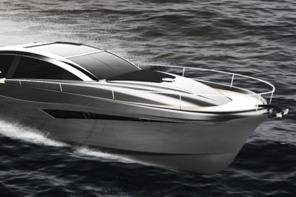 Shark Line 46 - Trendy Yacht That Won 5 Design Awards