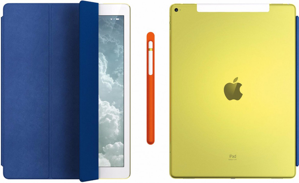 Apple's Unique Version Of iPad Pro For Charity Auction