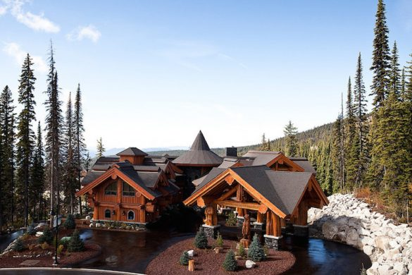'Timber Kings' Log Mansion in Big White Reduced to $6.8 Million