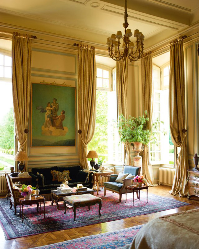 Newly renovated 18th century french chateau can be yours for Catherine interior designer grand designs