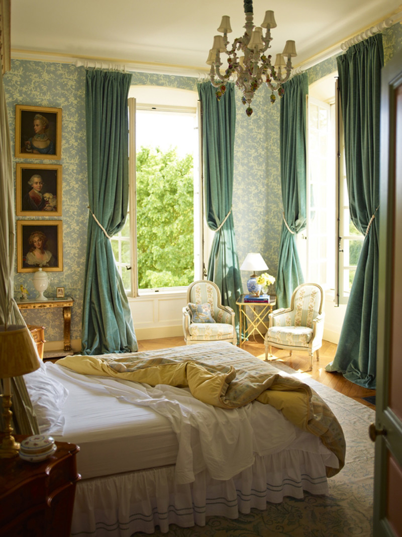 Newly renovated 18th century french chateau can be yours for French chateau style decor
