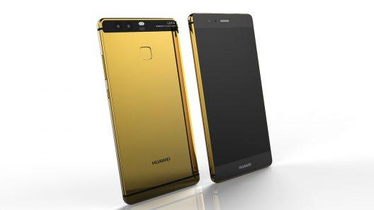 24k Gold Huawei P9